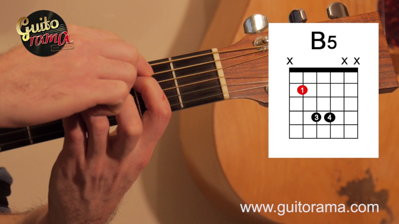 Apprendre à jouer Si mineur en barré ou simplifié