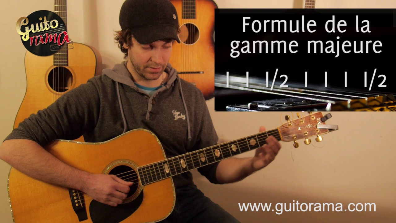 Cours 5 formule de la gamme majeure + gamme de DO majeure horizontale