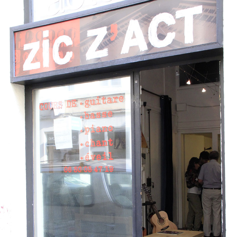 L'École de musique actuelle Zic Z'Act Lyon