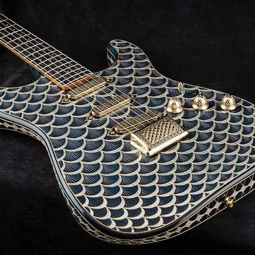 Guitare luxe