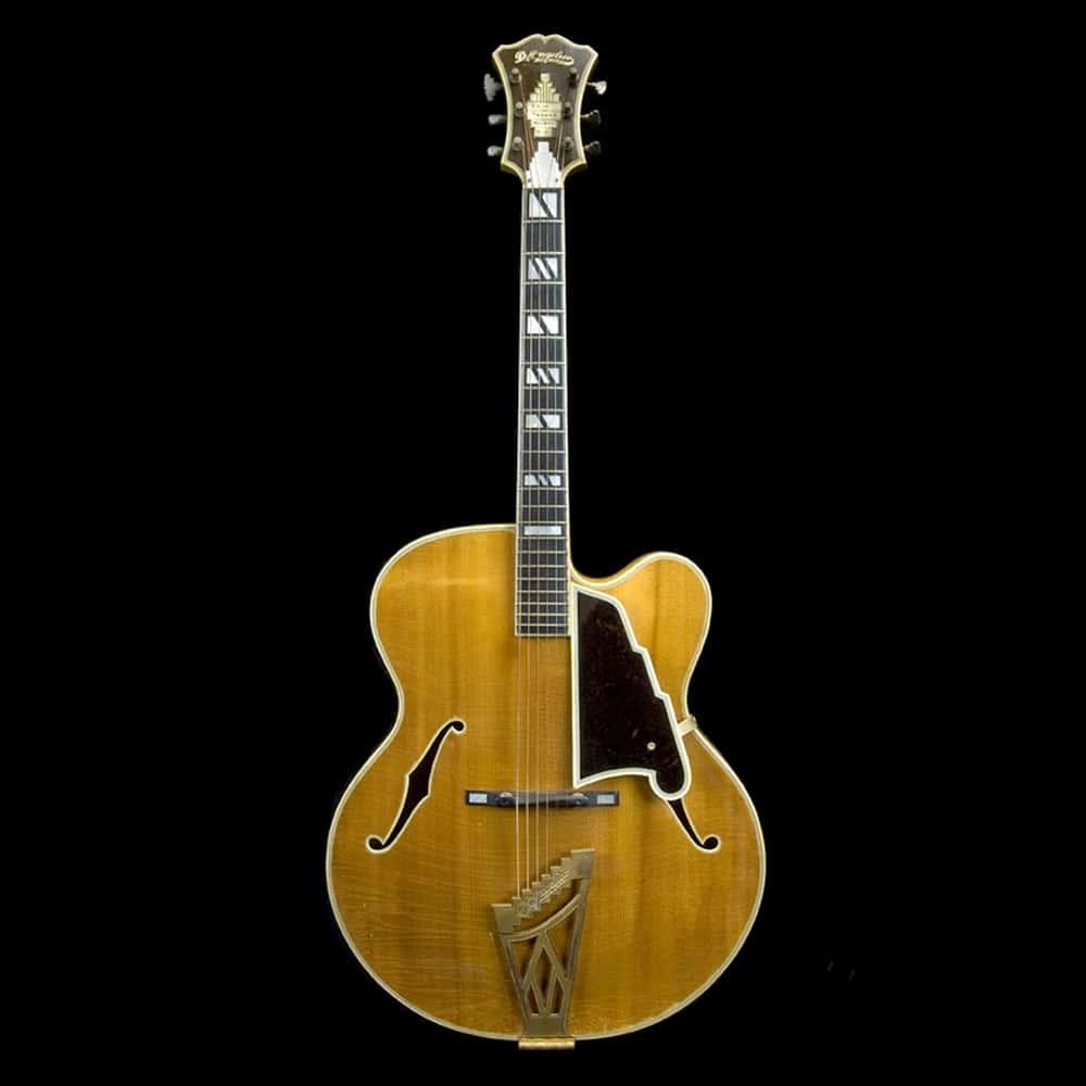 Guitare éléctrique hollow body Archtop