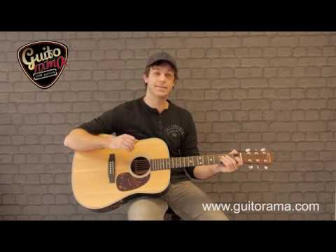 Guitar' demo MARTIN HD 28 VS MARTIN D 35 : banc d'essai, comparatif