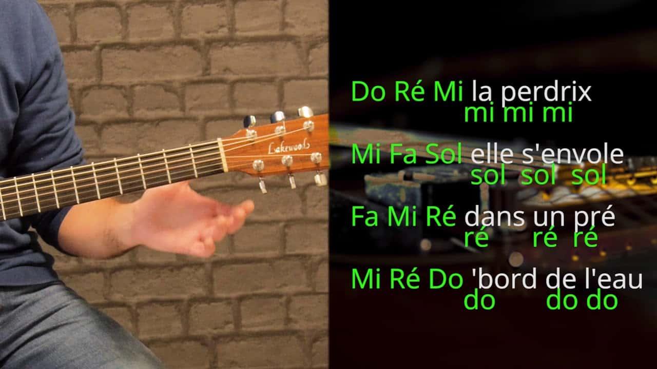 Do Ré Mi La perdrix + bonus