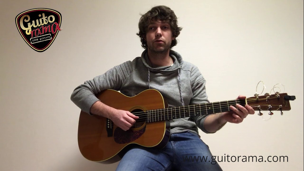 Essai de la MARTIN 000 28 Eric Clapton signature