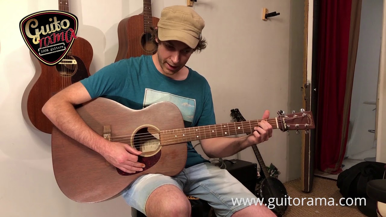 Guitar test MARTIN D15 vs J15 vs OM15 (comparatif dreadnought jumbo & auditorium)
