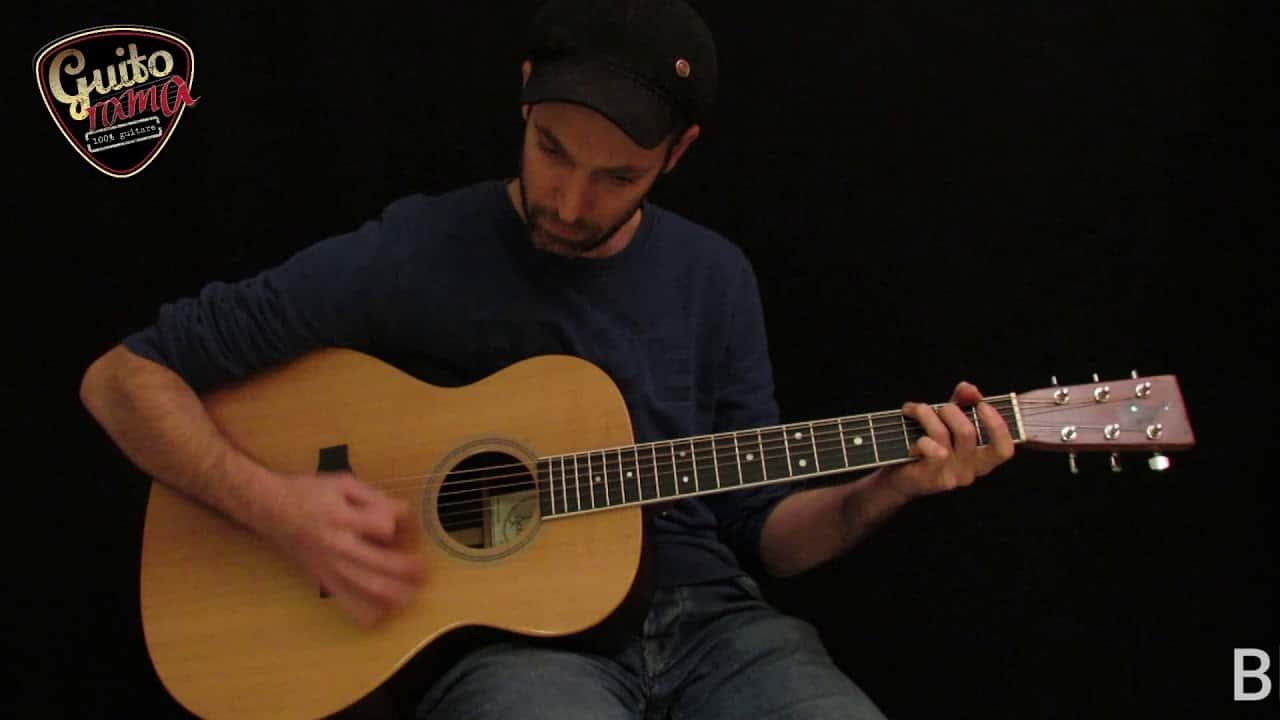 Test MARTIN 00028  EC par le luthier Thierry Resta, mieux que l'original ?